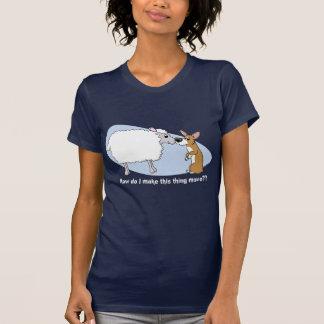 Corgi & Sheep Ladies TShirt