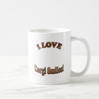 Corgi Smiles Template Coffee Mug