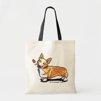 Corgi Sweetheart Budget Tote Bag
