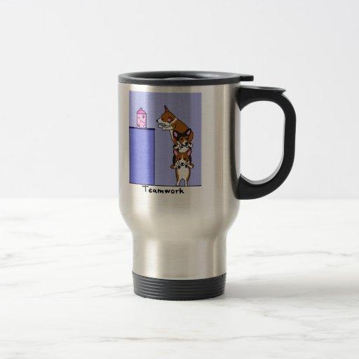 Corgi Teamwork Coffee Mug