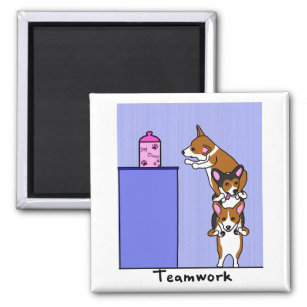 Funny Teamwork Cartoon Gifts On Zazzle