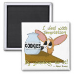 Corgi Temptations Fridge Magnet