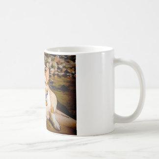 Corgi Toon Galés de la rebeca y del Pembroke Tazas De Café