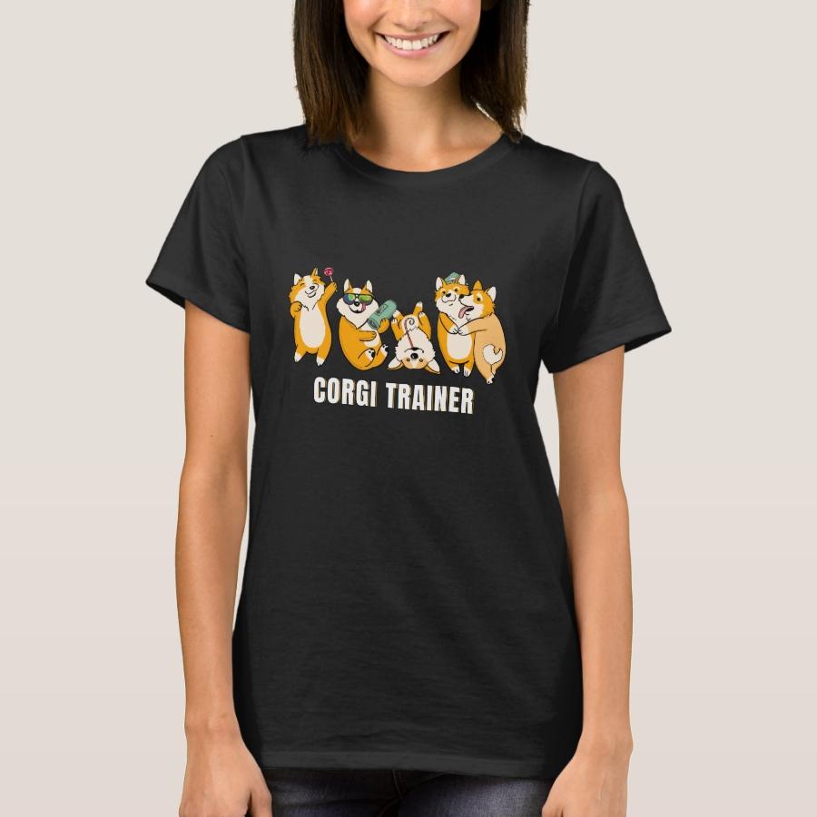 Corgi Trainer - Corgi Gift T-shirt - Best Selling Long-Sleeve Street Fashion Shirt Designs