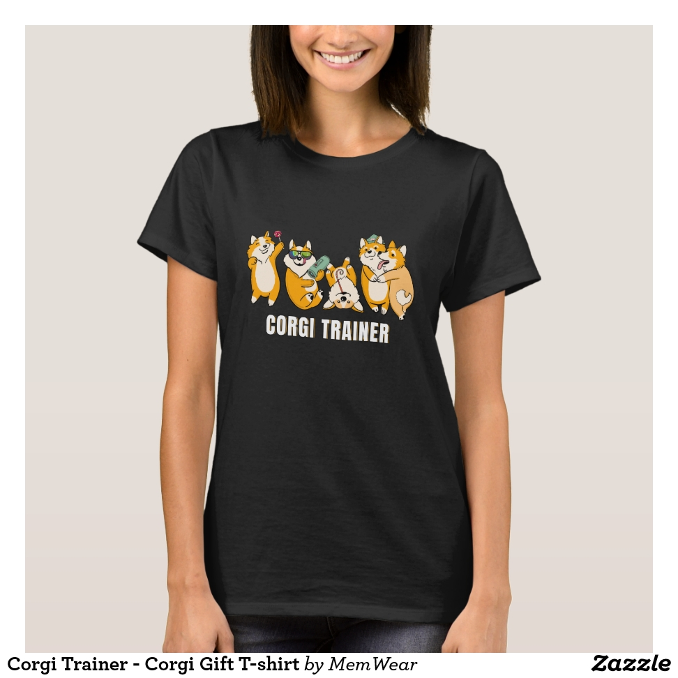 Corgi Trainer - Corgi Gift T-shirt - Best Selling Long-Sleeve Street Fashion Shirt Designs