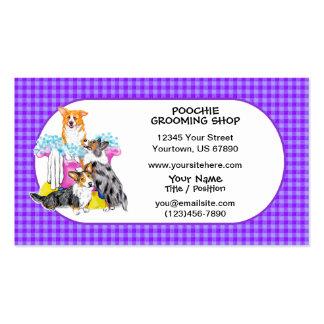 Corgi Tub Full Business Cards