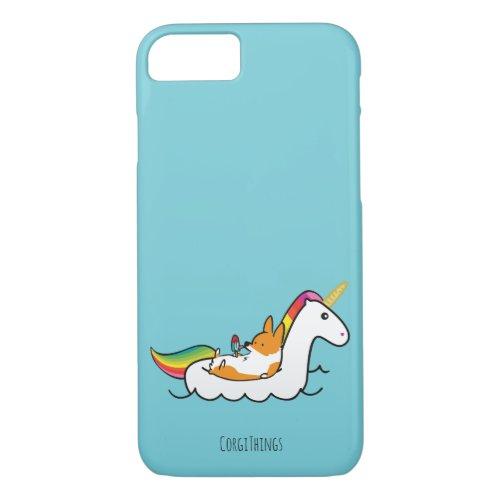 Corgi Unicorn Floatie Phone Case Phone Case