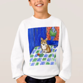 Corgi Waits Sweatshirt