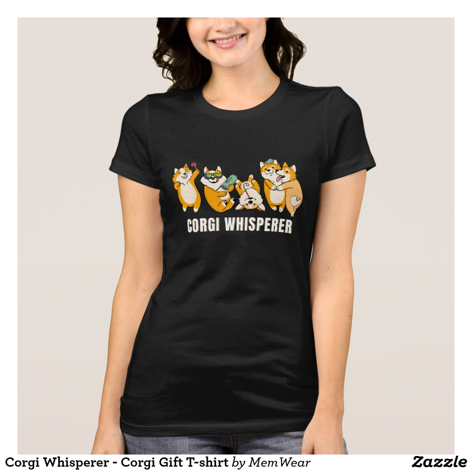 Corgi Whisperer - Corgi Gift T-shirt - Best Selling Long-Sleeve Street Fashion Shirt Designs