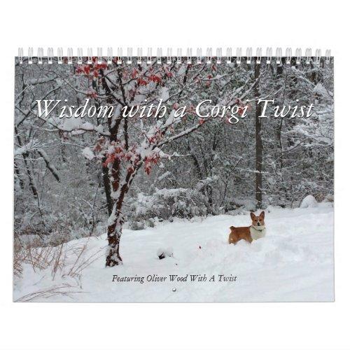 Corgi Wisdom Calendar