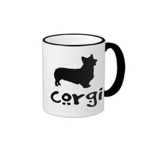 Corgi With Cool Text Coffee Mug