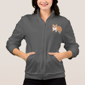 Corgi Women's Fleece Zip Jogger Jacket