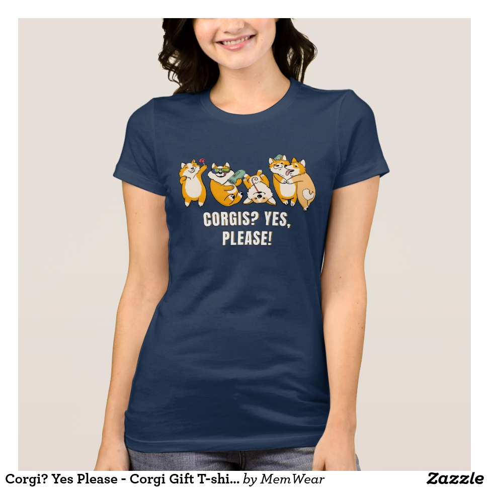 Corgi? Yes Please - Corgi Gift T-shirt - Best Selling Long-Sleeve Street Fashion Shirt Designs
