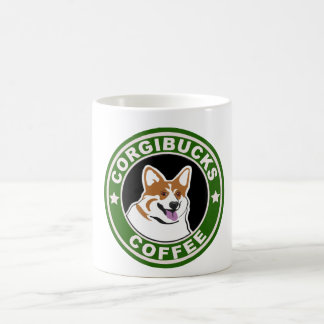 Corgibucks Coffee Coffee Mug