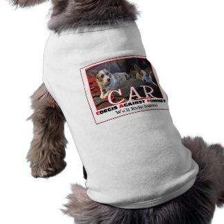 Corgis Against Romney Doggie T Shirt