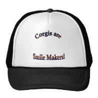 Corgis are smile Makers Template Mesh Hat