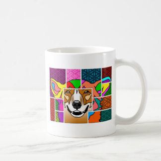 Corgis' Color My World Coffee Mug