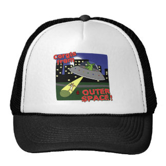 Corgis from Outer Space Trucker Hat
