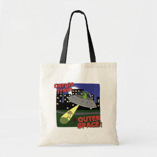Corgis from Outer Space Tote Bag