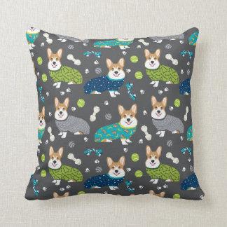 Corgi's in Pjs pillows