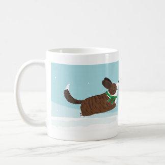 Corgis in the Snow Coffee Mugs
