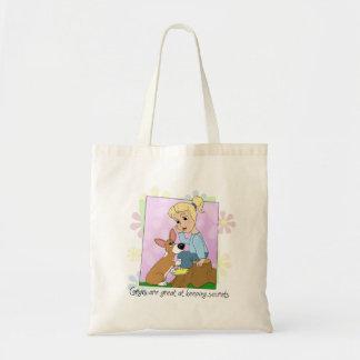 Corgis Keep Secrets Bag
