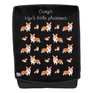 Corgis Life's Little Pleasures Backpack