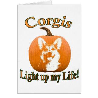 Corgis Light up my Life-Gimli Card