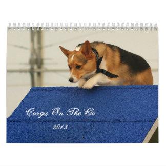 Corgis on the go 2013 calendar