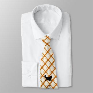 Corgis Rock!! printed on both sides Tie