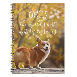 1dc70df419a8 Corgis The World's Best Antidepressants Notebook