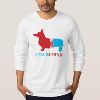 Corgis United Men's Longsleeve American Apparel T T-Shirt