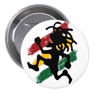 Cori Reith Rasta reggae Pinback Button