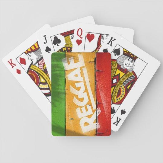 Cori Reith Rasta reggae graffiti Playing Cards | Zazzle.com