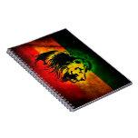Cori Reith Rasta reggae lion Note Books