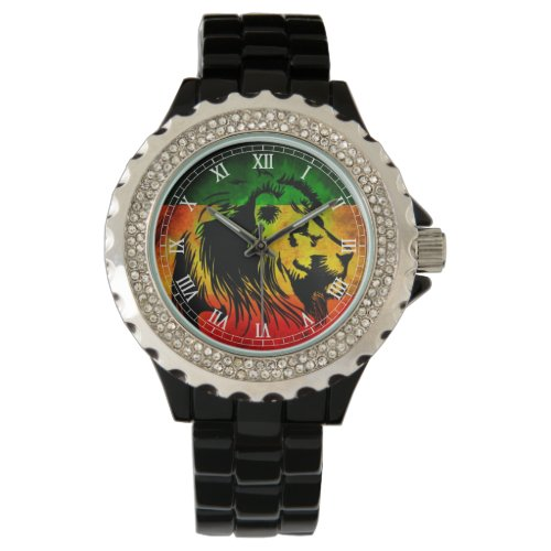 Cori Reith Rasta reggae lion Watch