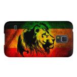 Cori Reith Rasta reggae music rasta flag lion Galaxy S5 Case