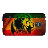 Cori Reith Rasta reggae music rasta flag lion Galaxy S5 Cover