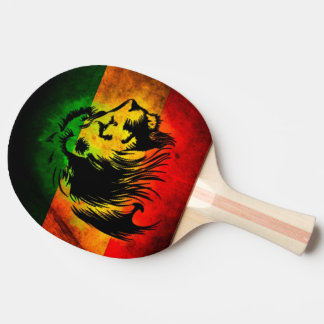Cori Reith Rasta reggae music rasta flag lion Ping-Pong Paddle