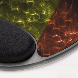 Cori Reith Rasta reggae music rasta flames Gel Mouse Pad