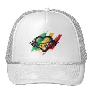 Cori Reith Rasta reggae one love Trucker Hat