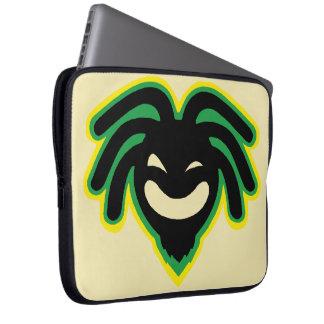 Cori Reith Rasta reggae peace face Laptop Sleeve