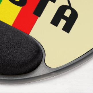 Cori Reith Rasta reggae peace Gel Mouse Pad