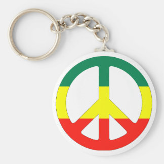 Cori Reith Rasta reggae peace Key Chain