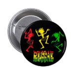 Cori Reith Rasta reggae rasta man music graffiti 2 Inch Round Button