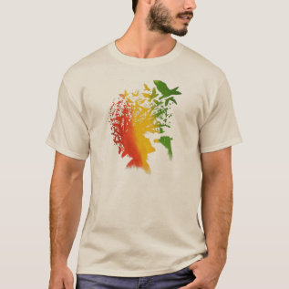 Cori Reith Rasta Reggae Rasta Man Music T-shirt at Zazzle