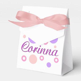 Corinna Favor Box