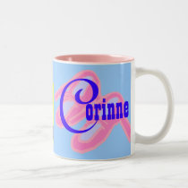 Corinne Personalized Name Mug