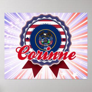 Corinne, UT Print
