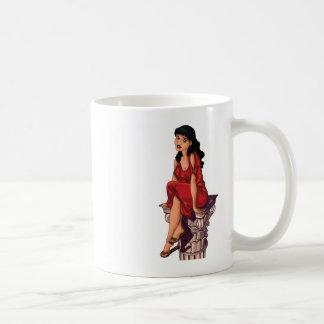 CORINTHIAN GIRL COFFEE MUG